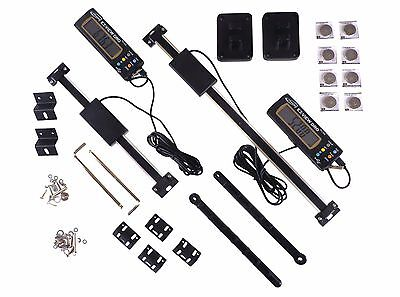 "Set 6"" & 12"" Easy View Digital Readout DRO Preset Articulating Remote Display"