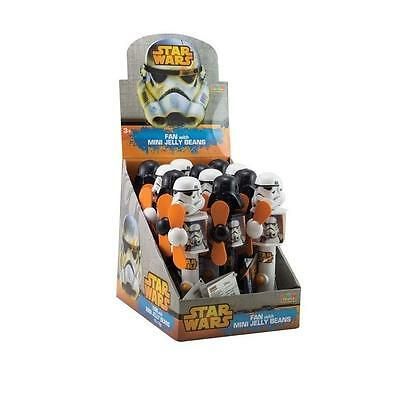 12 x Park Avenue Star Wars Fan with Mini Jelly Beans 10g