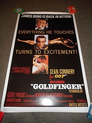 Goldfinger - Original Ss Rolled Officially Licensed Reproduction - 1997