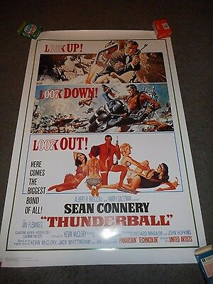 Thunderball - Original Ss Rolled Officially Licensed Reproduction - 1997