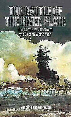 Battle of the River Plate by Gordon Landsborough Hardcover Book (English)