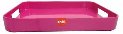 Zak Designs Half Gallery Serving Tray Pink