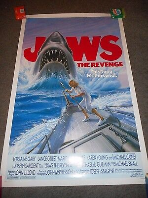 Jaws: The Revenge  - Original Rolled Ss Poster - 1987