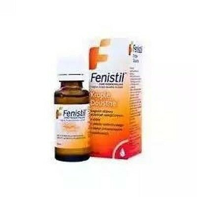 Fenistil Drops 20 ml insect Bites,itching,Sunburn,Rash FAST DELIVERY