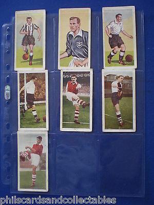 Chix Famous Footballers 1st set - Bubblegum Cards * Choose The One's You Need *