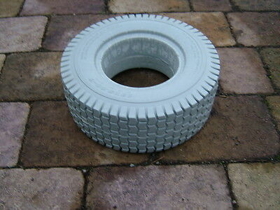 A SET OF FOUR PUNCTURE PROOF 13x5.00-6  GOLF BUGGY TYRES. BRAND NEW. COLOUR GREY