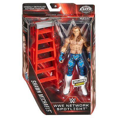 WWE Mattel Figur Elite Shawn Michaels Network EXCLUSIVE OVP