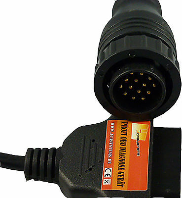 OBD1 on OBD 2 14Pin on 16Pin Adapter for Mercedes Sprinter Vito VW LT Diagnosis