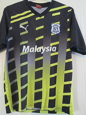 Cardiff City 2011-2012 Third 3rd Football Shirt Size Medium Adult /40289