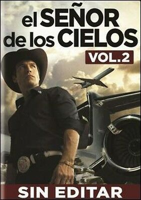 El Senor De Los Cielos: Vol. 2 - 6 DISC SET (2014, DVD NEW)