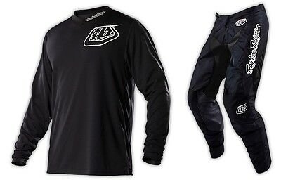 New Troy Lee Designs Tld Gp Midnight Hot Rod Mx Gear Combo Black All Sizes