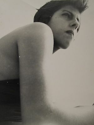 Vintage Artistic Composition Low Angle B&w Snapshot Found Vernacular Old Photo