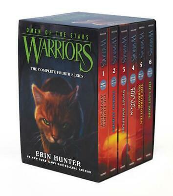 Warriors: Omen of the Stars Box Set: Volumes 1-6 by Erin Hunter (English) Paperb