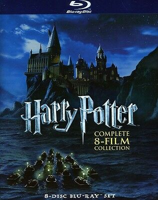 Harry Potter: Complete 8-Film Collection (2011, REGION A Blu-ray New) BLU-RAY/WS