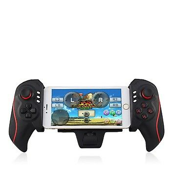 "Telescopico Wireless Game Controller Gamepad Joystick Per 5-10"" Smart Phone"