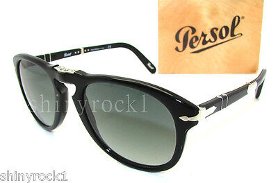 Authentic PERSOL Steve McQueen 714SM Folding Sunglass PO 714 - 95/71  *NEW* 54mm