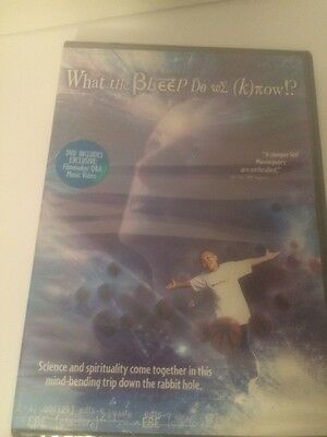 NEW - SEALED - What the Bleep Do We Know? (DVD, 2005, Dual Side)
