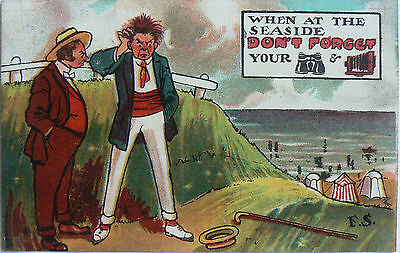 POSTCARDS.COMIC.FRED SPURGIN. PUBLISHED BY THE LONDON VIEW Co.1905-1908 RARE?
