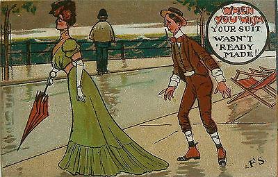 POSTCARDS-COMIC-FRED SPURGIN. LIKELY PUBLISHED BY THE LONDON VIEW Co. 1905-1908