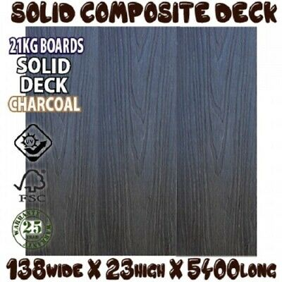 COMPOSITE DECKING - SILVER GREY- 5400x1142 x 22mm *similar colour to modwood