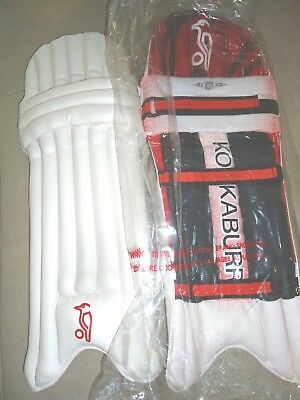 Cricket Batting Leg Pads Youth Junior Kookaburra Legend Beast Brandnew Clearance