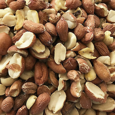 25Kg Peanut Splits & Whole Mix Aflatoxin Safe Split Peanuts Wild Bird Food