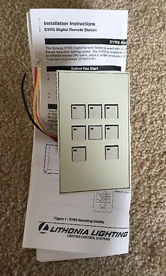 LITHONIA Lighting SYRS 1G 8BT WC2 Digital Remote Station