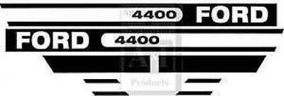 Ford Tractor Hood Decal Set   Model 4400