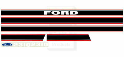 Ford Tractor Hood Decals   Model 2310