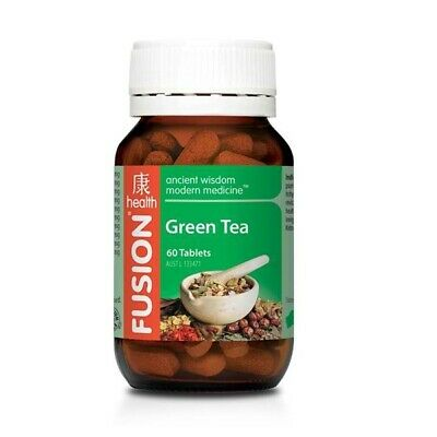 FUSION GREEN TEA 60 TABS Chinese Herbal Weight Loss Supplement