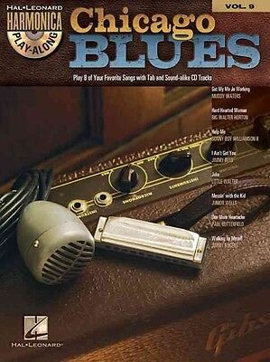 Chicago Blues: Harmonica Play-Along Volume 9 by Paperback Book (English)