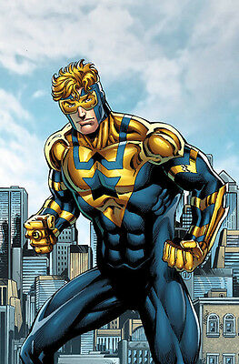 Booster Gold Futures End #1 (2014) Standard Cover 1St Printing