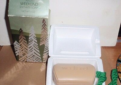 Avon Weekend Mens Shower Soap On A Rope New In Original Box