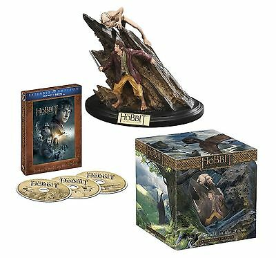 The Hobbit An Unexpected Journey Extended Limited Edition Blu-ray 3D Box Set NEW