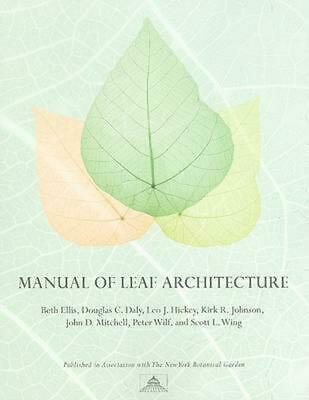 Manual of Leaf Architecture by Beth Ellis (English) Paperback Book Free Shipping