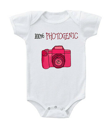100% Photogenic Infant Toddler Baby Cotton Bodysuit One Piece