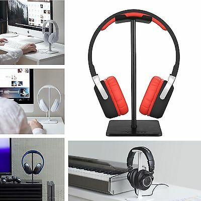 Aluminum I-shaped Large Headset Display Stand Holder For Universal Headphone