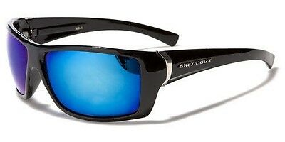 Arctic Blue Square Men's Sunglasses