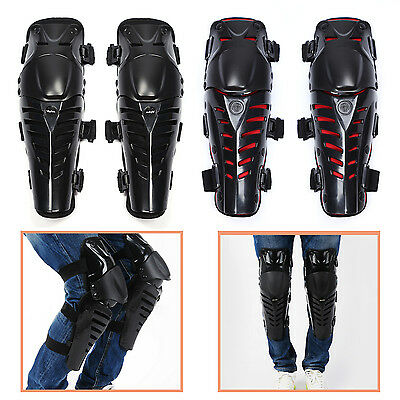 Adult Knee& Shin Armor Protector Guard Pads for Motorcycle Motocross Racing Bike