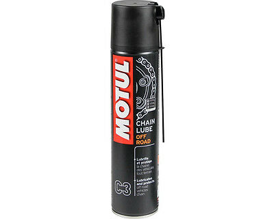 MOTUL CHAIN LUBE OFFROAD C3 GRASSO SPRAY CATENA O-RING X-RING Z-RING 400 ml