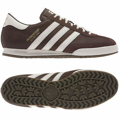 29518250ff5f adidas MENS BECKENBAUER BROWN SIZE 7 8 9 10 11 12 TRAINER SHOES MOD STYLE  BNWT