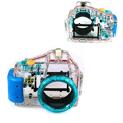 40M/130ft Waterproof Underwater Housing Case For NIKON 16MM Lens Diving