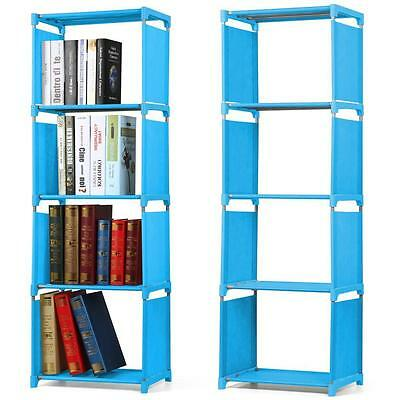 Children Kids Bookcase Bookshelf Storage Shelves Organizer Display Shelf Unit