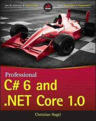 Professional C# 6 and .Net Core 1.0 by Nagel Paperback Book (English)