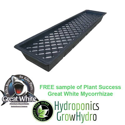 GT901 Complete NFT Hydro Tray Kit  - free Great White sample 15g