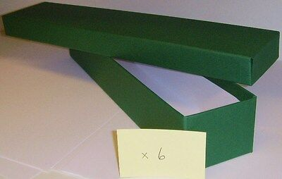 Loco/Locomotive Storage Boxes - Large (Green) with Lids x 6. New.