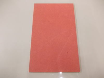 Valchromat Coloured Wood 420 x 297 x 8mm A3 Red  Board Sheet DIY  Panel