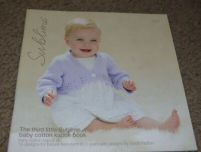 The First Little Sublime Baby Cotton Kapok Book 618