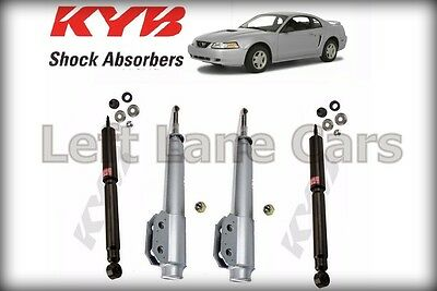 KYB Excel-G Struts 2-Front /& 2-Rear 4 Shocks Ford Mustang 1994 to 2004