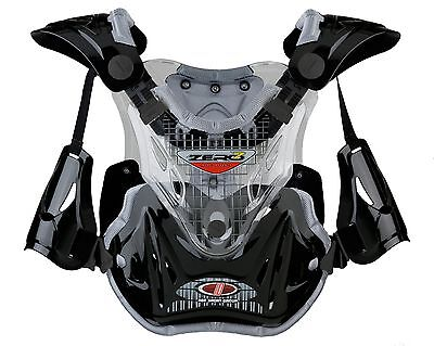 Zero-7 IDX1 Motocross/Off-Road Chest Protector Clear